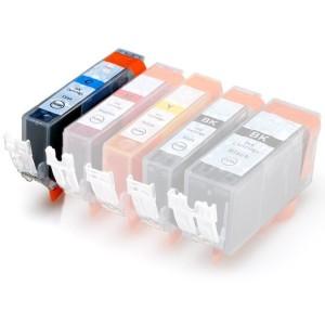 Plněná kazeta - CANON (PGI-550 + CLI-551) - modrá