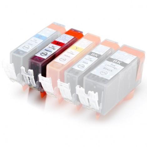 Plněná kazeta - CANON (PGI-550 + CLI-551) - červená