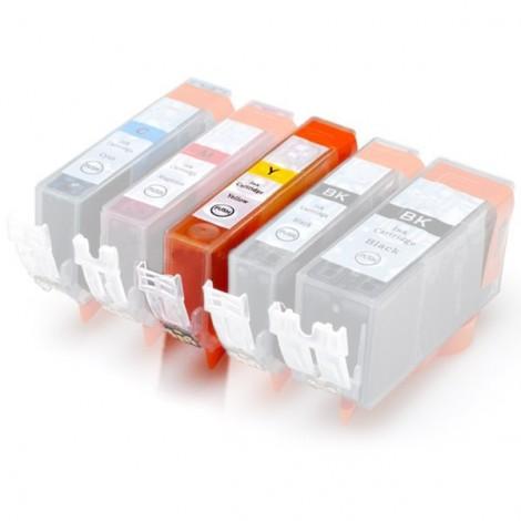 Plněná kazeta - CANON (PGI-550 + CLI-551) - žlutá